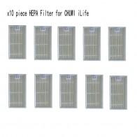 292.37 руб. 44% СКИДКА|10 шт. HEPA фильтр для пылесоса CHUWI ilife v5s ilife v5 pro v1 V3 V3 + v5pro ilife x5 робот пылесос части купить на AliExpress