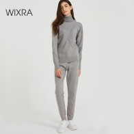 US $28.99 60% OFF|Wixra Autumn Winter Casual Knitted Women