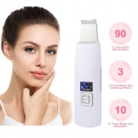 US $13.87 56% OFF|Ultrasonic Deep Face Cleaning Machine Skin Scrubber Remove Dirt Blackhead  Reduce Wrinkles and spots Facial  Whitening Lifting-in Powered Facial Cleansing Devices from Home Appliances on AliExpress - 11.11_Double 11_Singles