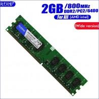 232.8 руб. |Plexhd 2 ГБ 2G DDR2 PC2 6400 800 МГц для настольных ПК DIMM PC2 6400 (широкий вариант) памяти Оперативная память (для intel amd) полностью совместим-in ОЗУ from Компьютер и офис on Aliexpress.com | Alibaba Group