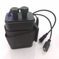 767.04 руб. 15% СКИДКА|Водонепроницаемый пластик 6x18650 аккумулятор, упаковка держатель Крышка DC/USB выход для велосипеда фонарь для велосипеда и мобильного телефона-in Зарядники from Бытовая электроника on Aliexpress.com | Alibaba Group