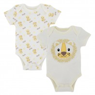 US $7.6 35% OFF|KAVKAS 2019 2Pcs/Set Newborn Baby Summer Clothes Baby Boy Bodysuit Short Sleeve Cotton Soft Roupas de bebes Body Infant Clothing-in Bodysuits from Mother & Kids on Aliexpress.com | Alibaba Group