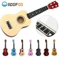ADDFOO Гавайские гитары укулеле 21 дюймов Ukelele сопрано 4 Strings Гавайская ель липа гитары Уке + строка палочки струнный инструмент купить на AliExpress