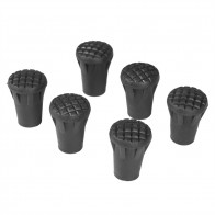 US $2.51 15% OFF|6pcs/Lot Outdoor Hiking Trekking Pole Tips Cap Replacement End Walking Stick Cane Cap Cover Protector Climbing Accessory Kit-in Walking Sticks from Sports & Entertainment on Aliexpress.com | Alibaba Group