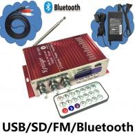 1234.36 руб. 15% СКИДКА|KENTIGER HY 502S 40 Вт мини усилитель Bluetooth дистанционное управление USB/плеер с sd картой fm радио адаптер питания и AUX кабель опционально-in Усилитель from Бытовая электроника on Aliexpress.com | Alibaba Group