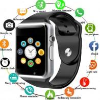 430.93 руб. 40% СКИДКА|A1 Смарт часы с Bluetooth, наручные часы спортивные Шагомер с SIM Камера, умные часы для Android смартфон России T15 PK DZ09 Q18 X6-in Цифровые часы from Ручные часы on Aliexpress.com | Alibaba Group