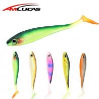 107.28 руб. 39% СКИДКА|Amlucas высокое качество 5 шт./лот мягкие рыболовные приманки T Хвост Grub Искусственные живота 9,5 см 5,1g груди открытой Swimbait силиконовые приманки WE322-in Наживка from Спорт и развлечения on Aliexpress.com | Alibaba Group