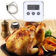 317.69 руб. 5% СКИДКА|Цифровой термометр для духовки, беспроводной термометр для приготовления пищи, барбекю, ЖК дисплей, таймер для барбекю, зонд, температура, кухонные инструменты для приготовления пищи-in Датчики температуры from Дом и животные on Aliexpress.com | Alibaba Group