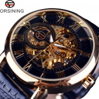 € 13.55 47% de réduction|Forsining 3d Logo Design creux gravure noir or boîtier en cuir squelette mécanique montres hommes marque de luxe Heren Horloge-in Mécanique Montres from Montres on Aliexpress.com | Alibaba Group