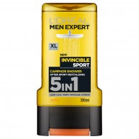 L'Oréal Men Expert Invincible Sport 5-in-1 Shower Gel 300ml - Косметика для мужчин