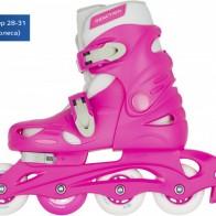 Роликовые коньки детские раздвижные REACTION Rock Girl