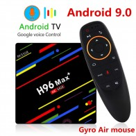1847.29 руб. 44% СКИДКА|ТВ бокс H96 MAX Plus Android 9,0 Smart set top Box RK3328 4 ГБ 32 ГБ 64 Гб 5 г Wifi 4 K H.265 медиаплеер H96 Pro H2 PK X96 MAX-in ТВ-приставки from Бытовая электроника on Aliexpress.com | Alibaba Group
