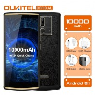 "10856.86 руб. 20% СКИДКА|OUKITEL K7 Android 8,1 6,0 ""FHD + 18:9 MTK6750T 4G RAM 64g ROM 10000 мАч 9 В/2A Quick Charge 13.0MP + 5.0MP смартфон с отпечатками пальцев купить на AliExpress"