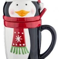 Купить Кружка новогодняя с ложкой 800 мл Lefard (782-165) по низкой цене с доставкой из Яндекс.Маркета - Посуда для праздника