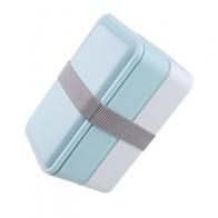 3 цвета 1000 мл двухслойный Ланч-бокс контейнер для хранения еды микроволновая печь Bento коробки столовая посуда Ланчбокс BPA бесплатно - time for lunch