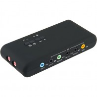 1223.95 руб. 25% СКИДКА|USB2.0 звуковая карта добавить на карты Cmi 6206 Чипсет USB 7,1 Звуковая карта с SPDIF и USB кабель удлинитель удаленного пробуждения поддержка купить на AliExpress