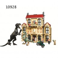 US $4.74 5% OFF|Jurassic Dinosaur World 2 Indoraptor Building Blocks Jurrassic Dinosaur Figures Bricks Toys For Children-in Blocks from Toys & Hobbies on Aliexpress.com | Alibaba Group