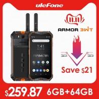 18364.22руб. 32% СКИДКА|Ulefone Armor 3WT IP68 прочный смартфон Android 9,0 5,7