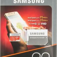 Купить Карта памяти microSDHC UHS-I SAMSUNG EVO PLUS 32 ГБ в интернет-магазине СИТИЛИНК, цена на Карта памяти microSDHC UHS-I SAMSUNG EVO PLUS 32 ГБ (460531) - Москва