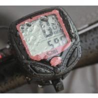250.48 руб. 17% СКИДКА|1 шт. велосипедный компьютер с ЖК цифровым дисплеем Водонепроницаемый одометр для велосипеда Спидометр Секундомер для велосипеда аксессуары для верховой езды инструмент купить на AliExpress