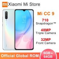 16858.54 руб. |В наличии глобальная ПЗУ Xiaomi Mi CC9 6 GB 64 GB мобильный телефон CC 9 Snapdragon 710 6,39