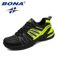 3379.41 руб. |BONA/Новое поступление, классический стиль, мужская теннисная обувь на шнуровке, мужская спортивная обувь, Уличная обувь для бега, удобные кроссовки купить на AliExpress