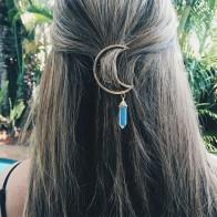 62.73 руб. 46% СКИДКА|Горячая продажа Мода 1 шт. Ретро многоцветный женский зажим для волос в виде Луны заколка аксессуары для волос из сплава-in Украшения для волос from Украшения и аксессуары on Aliexpress.com | Alibaba Group