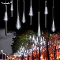 1319.4 руб. 20% СКИДКА|2 шт./партия, 30 см, 8 трубок, метеоритный дождь, дождевик, снегопад, светодиодный свет для рождества, Валентина, праздника, дерева, украшения сада-in Праздничное освещение from Лампы и освещение on Aliexpress.com | Alibaba Group