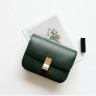 5688.98 руб. 42% СКИДКА|Женская сумка, качественная коробка из натуральной кожи, брендовая дизайнерская сумка через плечо, Классические женские сумки мессенджеры-in Сумки с ручками from Багаж и сумки on Aliexpress.com | Alibaba Group
