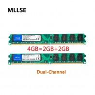 645.41 руб. 24% СКИДКА|MLLSE Новое герметичный DIMM DDR2 800 МГц 4 Гб (2 ГБ X 2 шт.) PC2 6400 памяти для ОЗУ компьютера, хорошее качество!-in ОЗУ from Компьютер и офис on Aliexpress.com | Alibaba Group