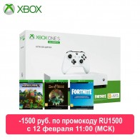 Игровая консоль Xbox One S 1TB All Digital SOT, Minecraft, Fortnite on AliExpress