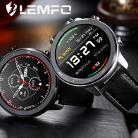 LEMFO, новые Смарт-часы, мужские спортивные трекер, полный сенсорный экран, забота о здоровье, Heart RateTiming Measure, Мужские t IP68 Водонепроницаемые Смарт-часы - Умные часики