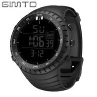 GIMTO большие цифровые часы для мужчин спортивные часы для бега секундомер водонепроницаемый Militar светодиодный Электронные наручные часы для...