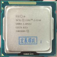 ПК компьютер процессор Intel Core i3 3240 i3 3240 (3 м кэш, 3,40 ГГц) LGA1155 настольный процессор-in Процессоры from Компьютер и офис on AliExpress