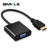 173.94 руб. 20% СКИДКА|Amkle адаптер hdmi vga кабель конвертер HDMI VGA кабель Поддержка 1080 P с аудио кабелем для HD tv xbox PS3 PS4 ноутбука ТВ коробка-in Кабели HDMI from Бытовая электроника on Aliexpress.com | Alibaba Group