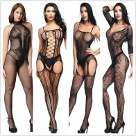US $2.84 36% OFF|Sexy lingerie Teddies Bodysuits hot Erotic lingerie open crotch elasticity mesh body stockings hot porn sexy underwear costumes-in Teddies & Bodysuits from Novelty & Special Use on Aliexpress.com | Alibaba Group