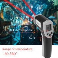 US $7.43 29% OFF|Digital Laser Infrared Thermometer Non Contact Thermometer IR Pyrometer LCD Temperature Meter Measure Gun Point  50 to 380degree-in Temperature Instruments from Tools on Aliexpress.com | Alibaba Group