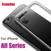US $0.91 17% OFF|Luxury Clear Silicone Soft TPU Case For 7 8 6 6s Plus 7Plus 8Plus X XS MAX XR Transparent Phone Case For iPhone 5 5s SE 6sPlus-in Fitted Cases from Cellphones & Telecommunications on Aliexpress.com | Alibaba Group