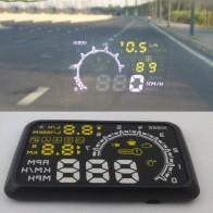 1040.89 руб. 20% СКИДКА|VODOOL новый автомобильный HUD Дисплей со скоростным расстоянием система сигнализации проекционный дисплей помогает новичкам контролировать избежать превышения скорости-in Проекционный дисплей from Автомобили и мотоциклы on Aliexpress.com | Alibaba Group