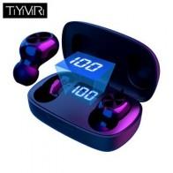 TWS Bluetooth наушники с микрофоном светодиодный дисплей беспроводные Bluetooth наушники водонепроницаемые шумоподавляющие гарнитуры