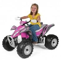 Детский квадроцикл Peg Perego Polaris Outlaw Pink Power IGOR0089 - Детские электромобили