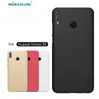 Huawei Honor 8X чехол Nillkin Матовый экран Твердый черный матовый корпус чехол для huawei Honor 8X Max PC Бампер подарок держатель купить на AliExpress
