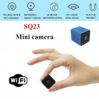1042.02 руб. 37% СКИДКА|Новая мини камера SQ23 HD wifi маленькая 1080 P широкоугольная камера cam водостойкая мини видеокамера sq13 DVR Видео Спорт Микро видеокамеры купить на AliExpress