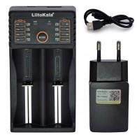 US $2.72 32% OFF|Liitokala Lii402 Lii202 Lii100 LiiS1 18650 Charger 1.2V 3.7V 3.2V AA/AAA 26650 NiMH li ion battery Smart Charger 5V 2A EU Plug-in Chargers from Consumer Electronics on Aliexpress.com | Alibaba Group
