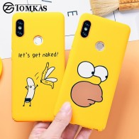 97.3 руб. 25% СКИДКА|TOMKAS стильная футболка с изображением персонажей видеоигр чехол для Xiaomi Redmi Note 5, чехол для телефона для Xiaomi Redmi 4X5 Plus mi A1 задняя крышка Забавный голый типа