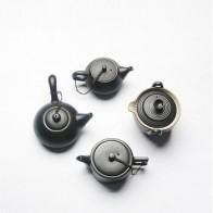 Креативный японский черный керамический горшок ручной работы из глазури, чайный горшок, грубая Керамика, керамика, чайная посуда, чайный на... - Любителям чая