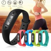 103.88 руб. 9% СКИДКА|Цифровой ЖК дисплей шагомерный шагомер шаговый счетчик калорий наручные женские и мужские спортивные фитнес часы браслет-in Цифровые часы from Ручные часы on Aliexpress.com | Alibaba Group