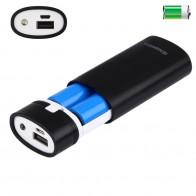 132.14 руб. 26% СКИДКА|2x18650 аккумулятор Портативный 5600 mAh DIY Блок питания корпус с USB выходом и индикатором для iPhone для samsung без батареи 5 V on Aliexpress.com | Alibaba Group