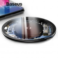 US $14.99 20% OFF|Baseus 10W Qi Wireless Charger for iPhone X/XS Max XR 8 Plus Visible Element Wireless Charging pad for Samsung S9 S10+ Note 9 8-in Wireless Chargers from Cellphones & Telecommunications on Aliexpress.com | Alibaba Group