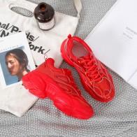 1629.54 руб. 30% СКИДКА|Новинка; сезон весна; женские кроссовки; коллекция 2019 года; модная женская повседневная обувь с лазером; обувь на плоской подошве; Осенняя женская обувь на платформе; Цвет Красный-in Женская вулканизированная обувь from Туфли on Aliexpress.com | Alibaba Group